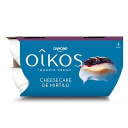 Iogurte oikos cheesecake de mirtilo
