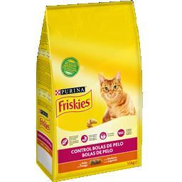 Ração para Gato Bolas de Pelo com Frango