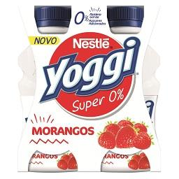 Iogurte líquido super 0% morango