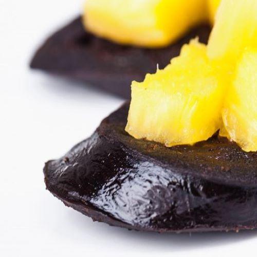 Morcela com ananás